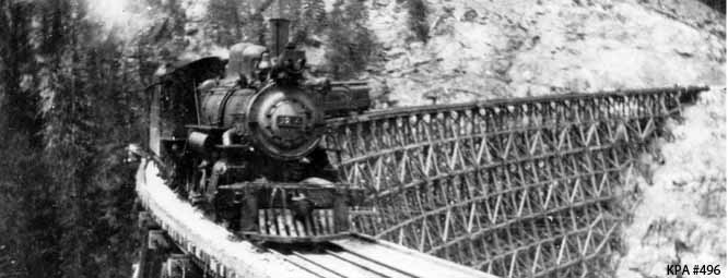 Kelowna Museums Public Archives and Reference Libraries | Historical Train Photo