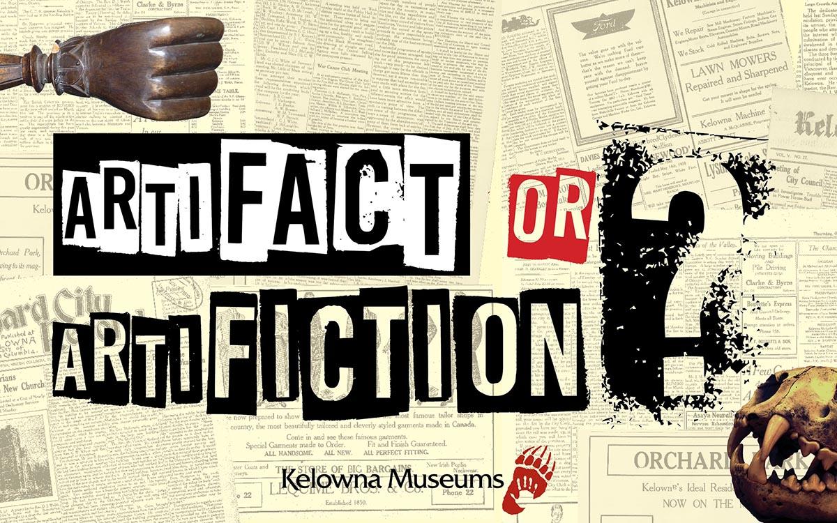 Artifact or Artifiction? A gamified exhibit at the Okanagan Heritage Museum