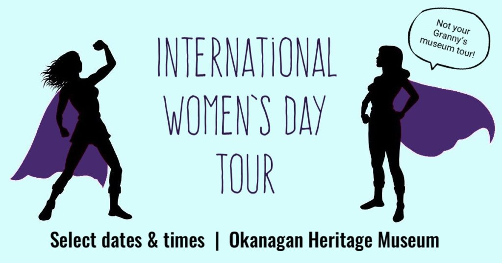 %name International Womens Day Tour