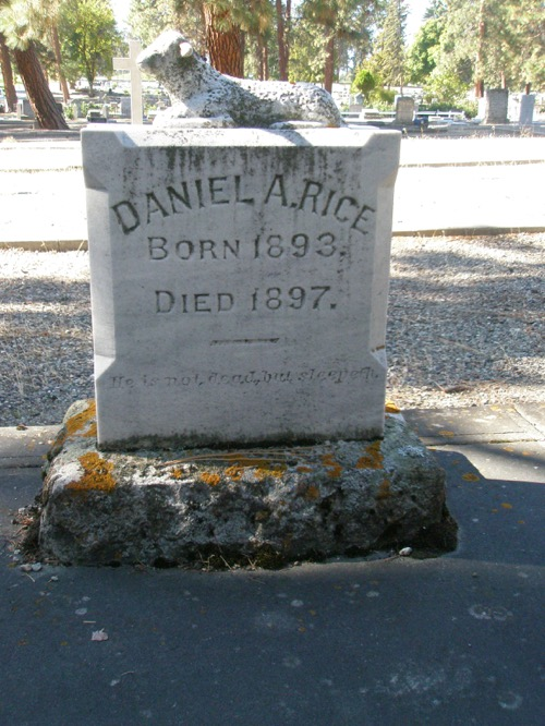 Daniel A. Rice BT 2 Tombstone Cleaning Workshop