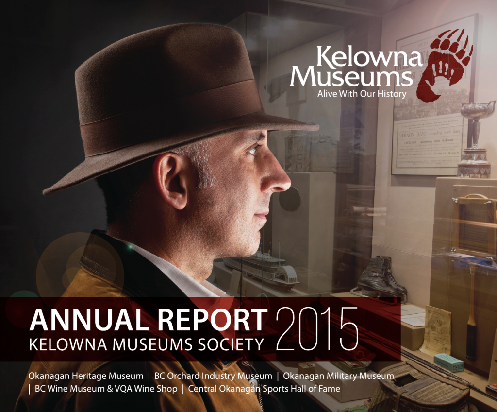 Kelowna Museums Annual Report 2015 cover 1024x848 Links & Resources