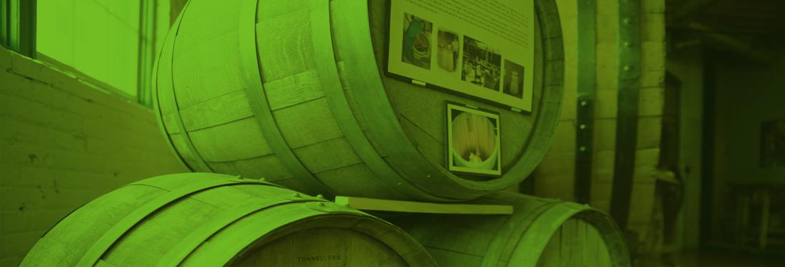 The BC Wine Museum interior