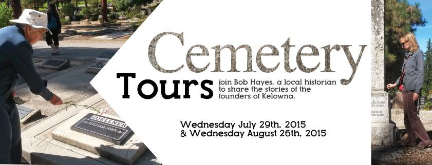 Kelowna Museums Cemetery Tours