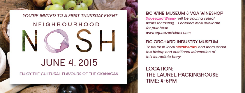 June Neighbourhood Nosh event