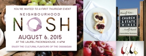 August Neighbourhood Nosh event
