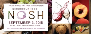 September Neighbourhood Nosh event