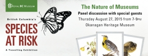Kelowna Museums Species at Risk Panel discussion event