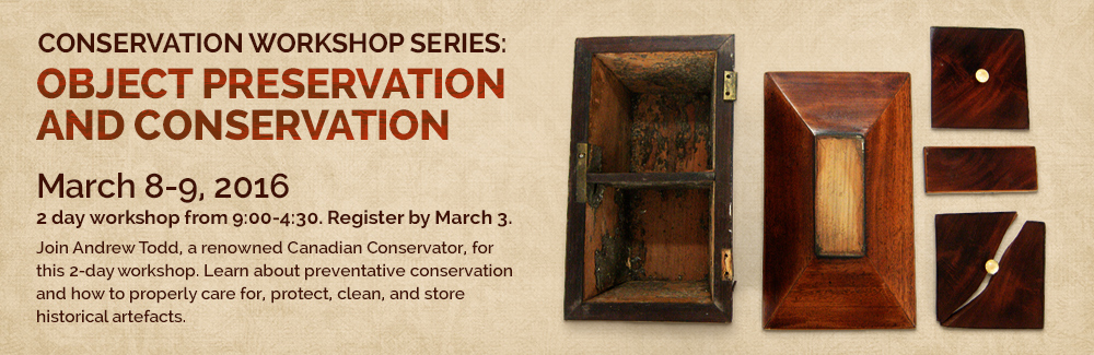 Object Preservation and Conservation