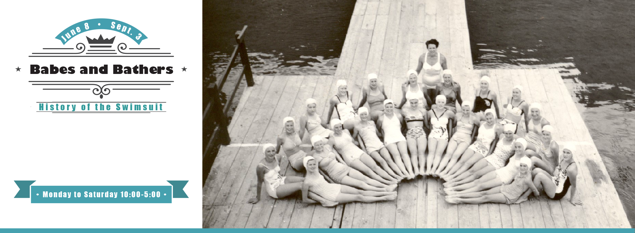 KelownaMuseums 2018 Exhibits BabesBathers 2046x750 v2 Babes and Bathers: History of the Swimsuit
