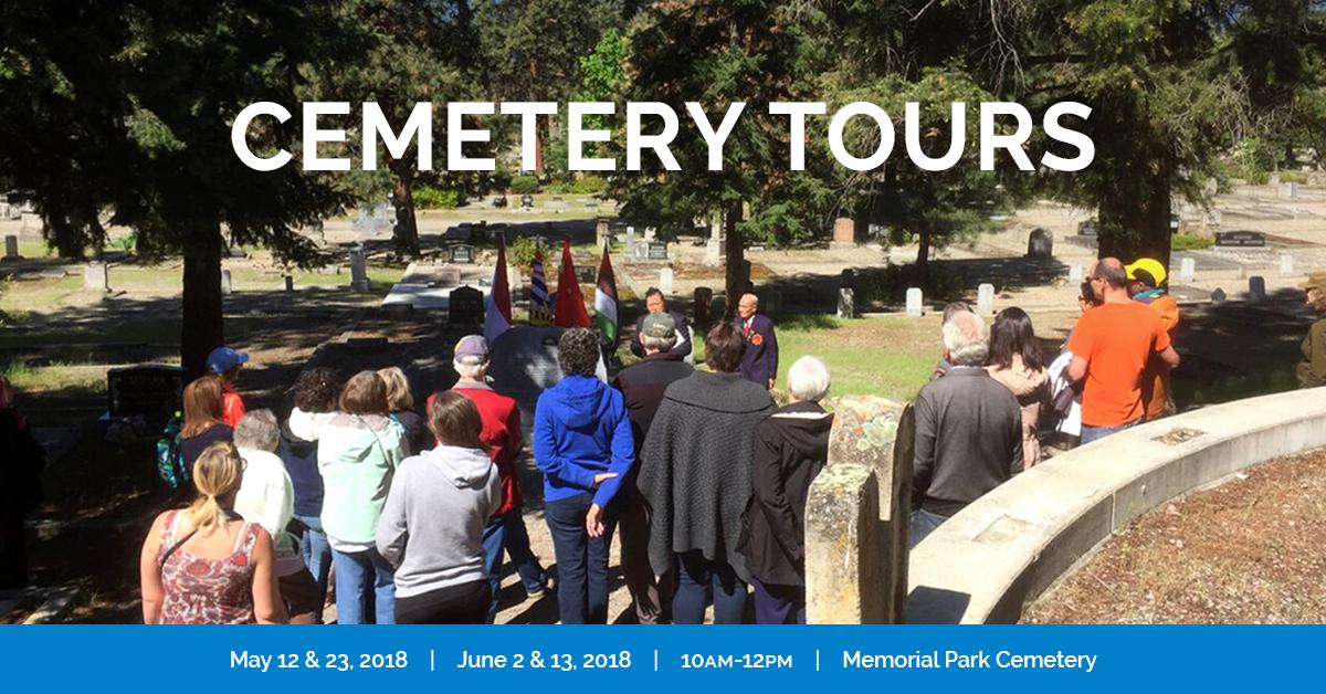 KelownaMuseums 2018 Programs CemeteryTours 1200x628 v2c Cemetery Tours