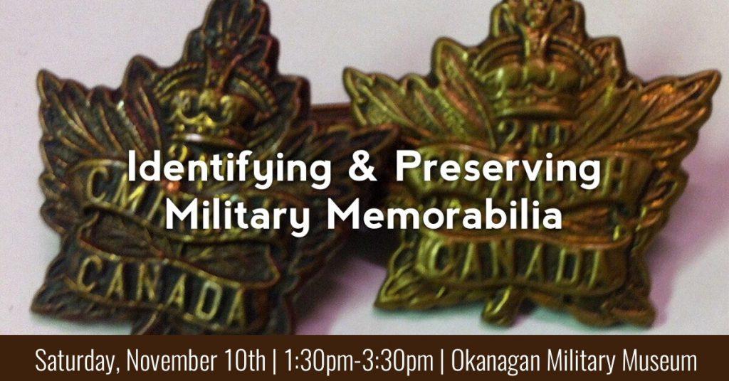 Nov10 1024x536 Identifying and Preserving Military Memorabilia