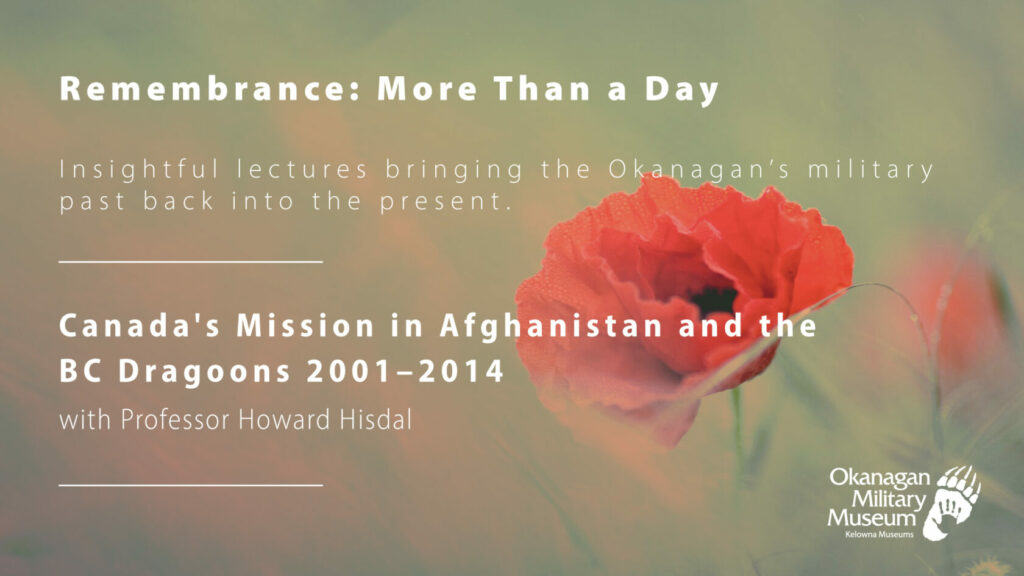Remembrance BC Dragoons Afghanistan Facebook 1024x576 Canadas Mission in Afghanistan and the BC Dragoons 2001 2014