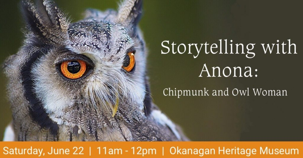 Storytelling 1200x628 1024x536 Storytelling with Anona: Chimpunk and Owl Woman