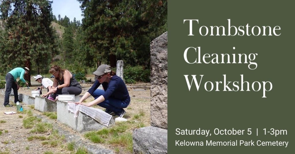 Tombstone 1024x536 Tombstone Cleaning Workshop