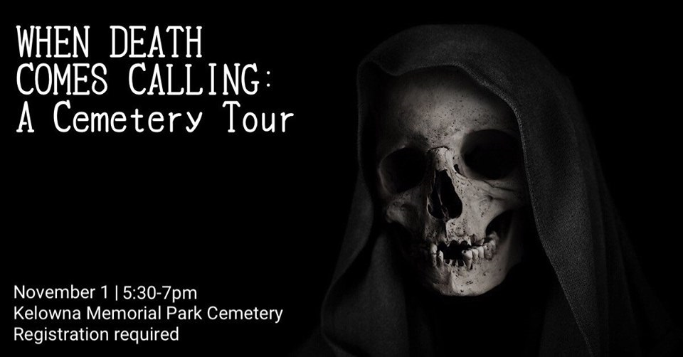 WDCC 530pm A Cemetery Tour: When Death Comes Calling