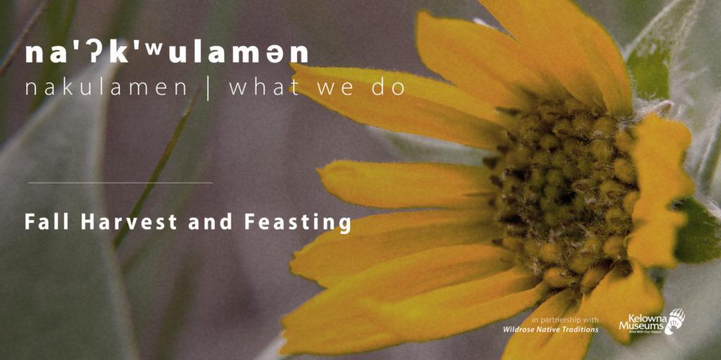 nakulamen fall harvest evenbrite 1024x512 na'ʔk'ʷulamən (what we do): Fall Harvest and Feasting